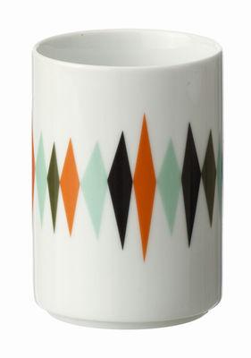Tableware - Coffee Mugs & Tea Cups - Cup by Ferm Living - Sea green, orange, black & White background - China