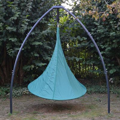 Outdoor - Deko-Accessoires für den Garten - Hülle / Für Cacoon 1-Personenzelt - Ø 150 cm - Cacoon - Grün - Polyester-Gewebe