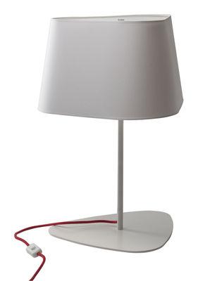 Lampe de table Grand Nuage H 62 cm - Designheure blanc en matière plastique