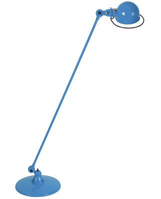 Liseuse Loft / 1 bras articulé - H 120 cm - Jieldé bleu brillant en métal