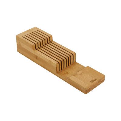 Cucina - Coltelli da cucina - Organizzatore per coltelli DrawerStore Bamboo - / Per coltelli - 2 livelli / 11,5 x 39,7 cm di Joseph Joseph - Bambù - Bambù