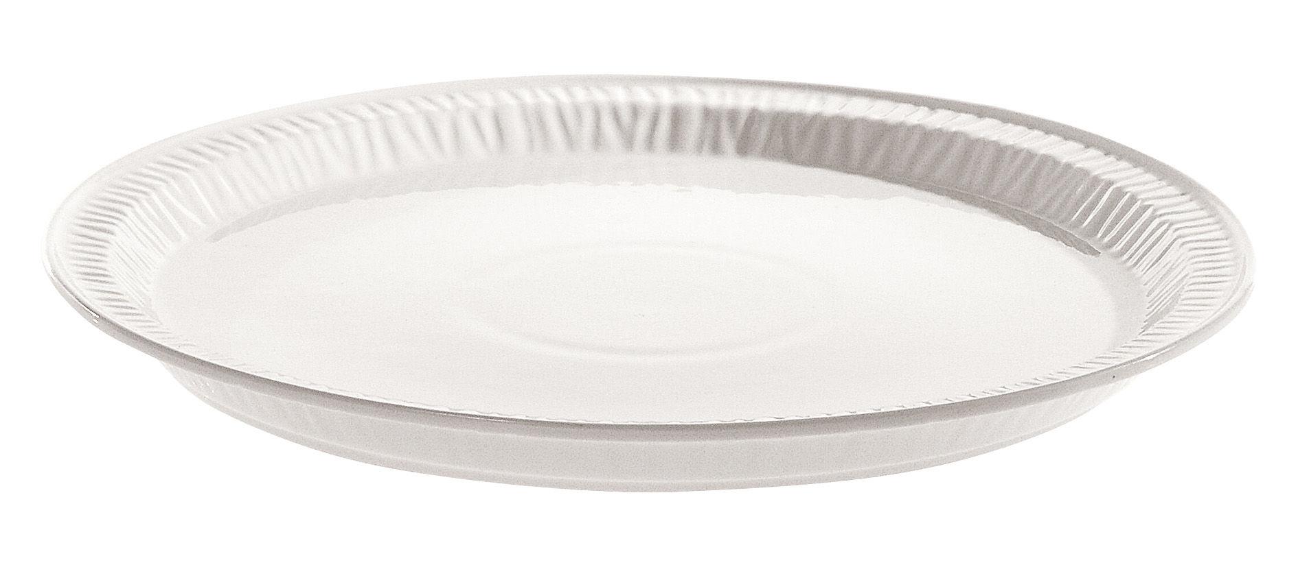Tavola - Piatti  - Piatto Estetico quotidiano - Ø 28 cm - In porcellana di Seletti - Bianco / Ø 28 cm - Porcellana