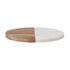 Planche à découper Gya / Ø 25,5 cm - Bois & marbre - Bloomingville