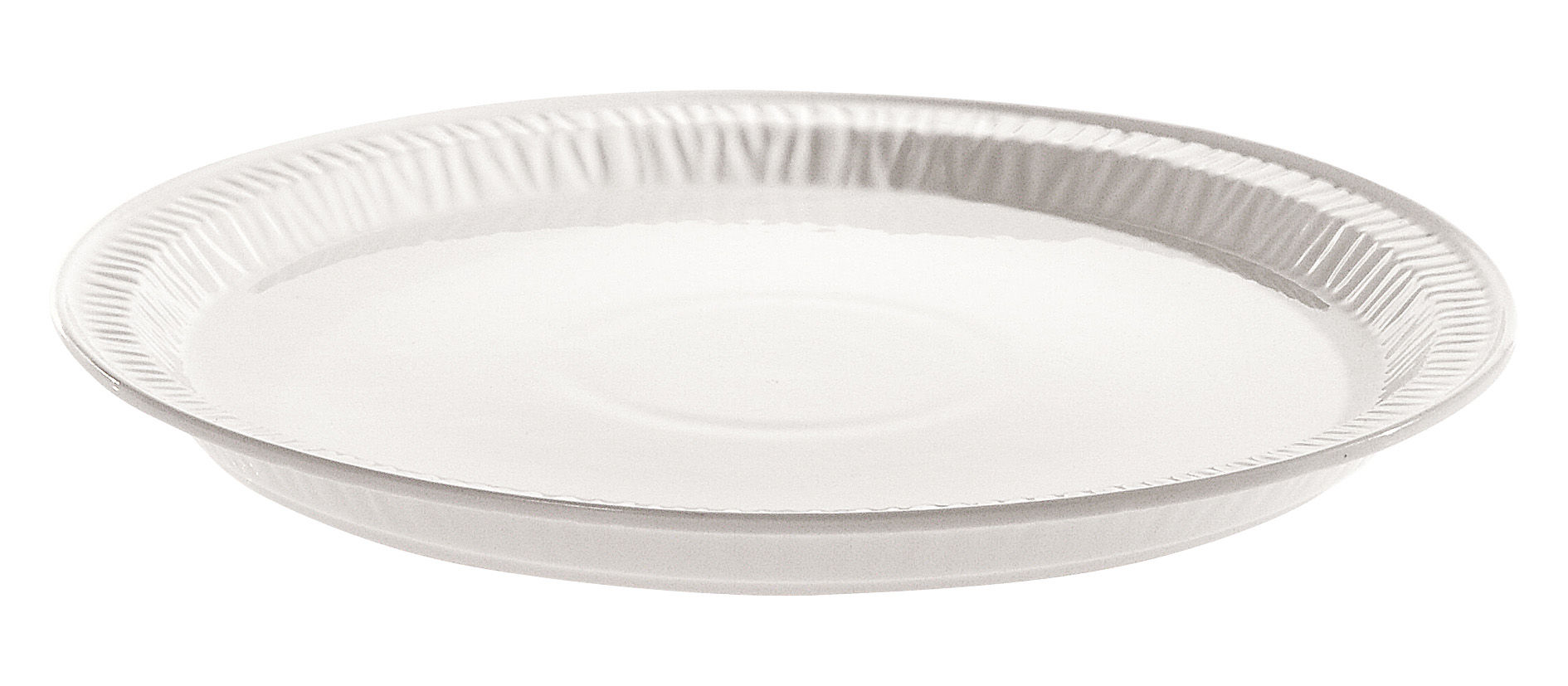 Tableware - Plates - Estetico quotidiano Plate - Ø 28 cm - China by Seletti - White / Plate Ø 28 cm - China