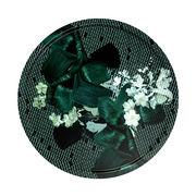 Plateau Vibration Emeraude / Ø 65 cm - Ibride emeraude en matière plastique