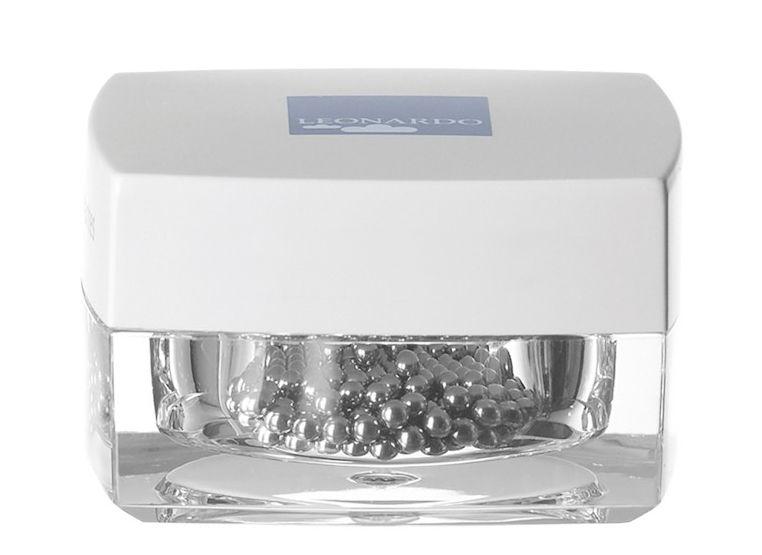 Küche - Spülen und putzen - Reinigungskugeln / für Karaffen und Vasen - Leonardo - Stahl - rostfreier Stahl