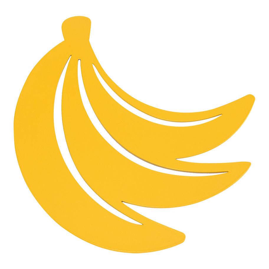 Outdoor - Decorazioni e accessori - Sottopentola Banane - / Metallo di Fermob - Miele - Acciaio