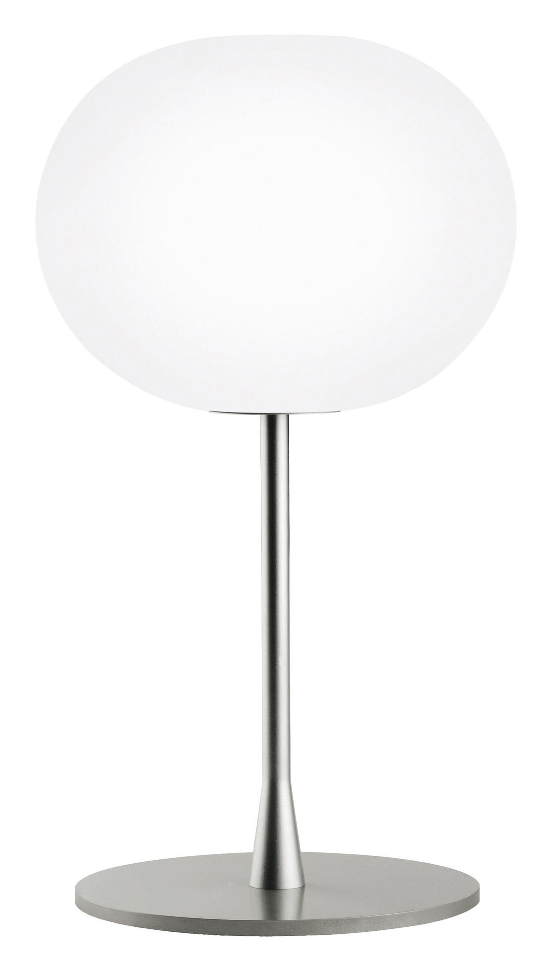 Lighting - Table Lamps - Glo-Ball T1 Table lamp by Flos - White / Steel - Glass, Steel