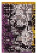 Tapis Digit 2 200 x 300 cm Nanimarquina multicolore en tissu