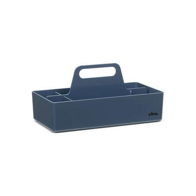 Image of Vaschetta portaoggetti Toolbox - / Scompartimentato - 32 x 16 cm di Vitra - Blu - Materiale plastico