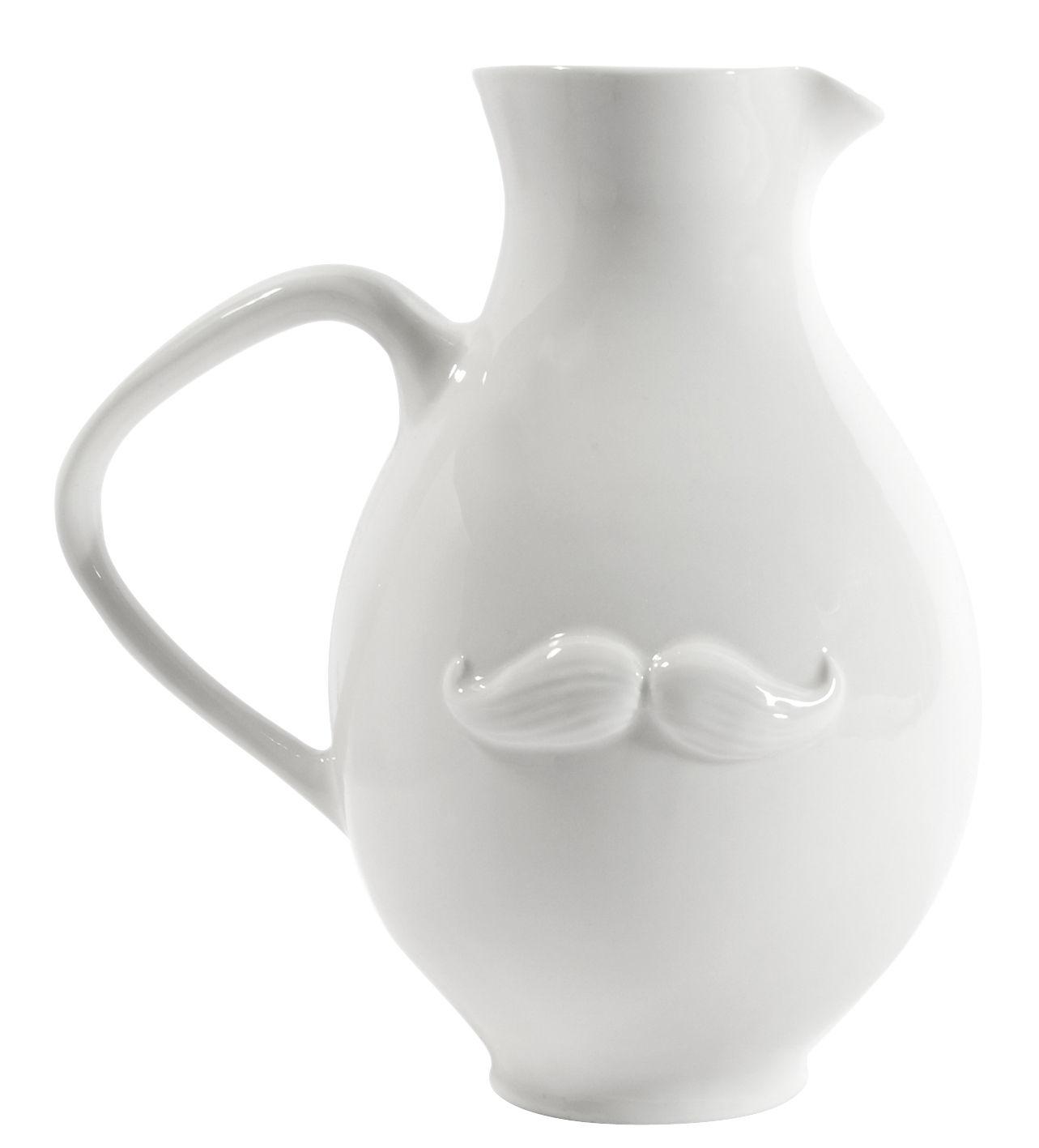 Arts de la table - Carafes et décanteurs - Carafe Muse  Reversible - Jonathan Adler - Blanc - Porcelaine