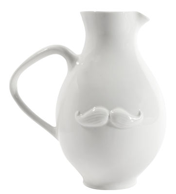 Tableware - Water Carafes & Wine Decanters - Muse  Reversible Carafe by Jonathan Adler - White - China