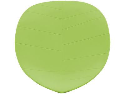 Coussin d'assise / Pour fauteuil Leaf - Arper vert en matière plastique