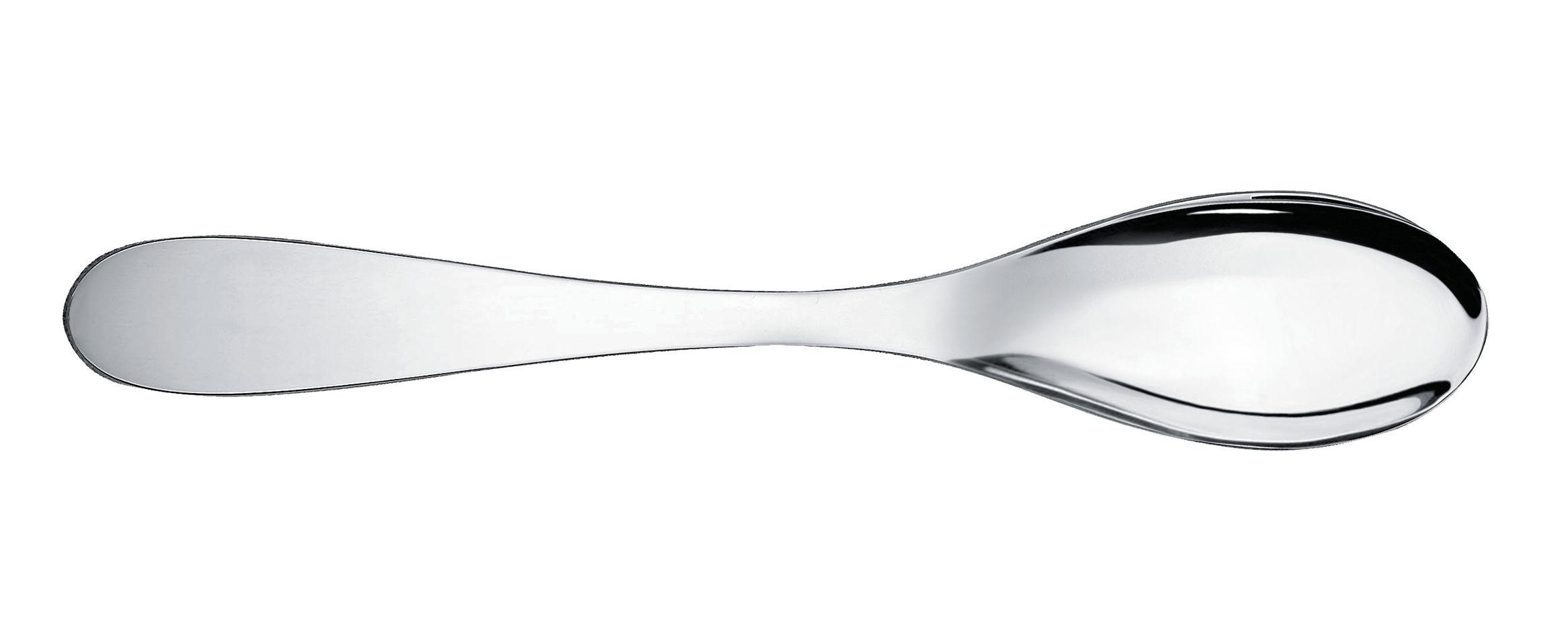 Arts de la table - Couverts de table - Cuillère à dessert Eat.it - Alessi - Métal brillant - Acier inoxydable 18/10