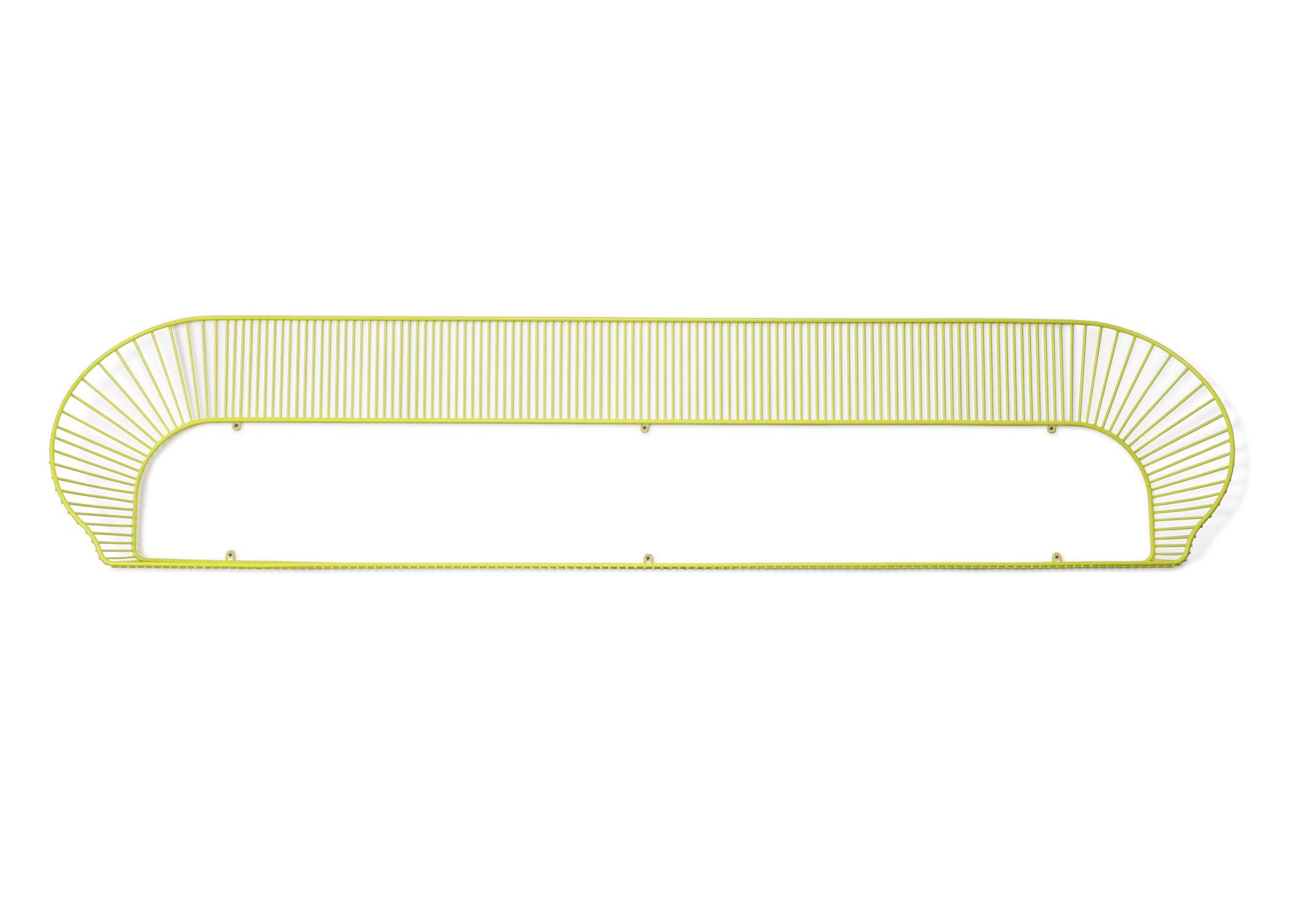 Mobilier - Etagères & bibliothèques - Etagère Loop / L 160 cm - Petite Friture - Jaune citron - Acier peint