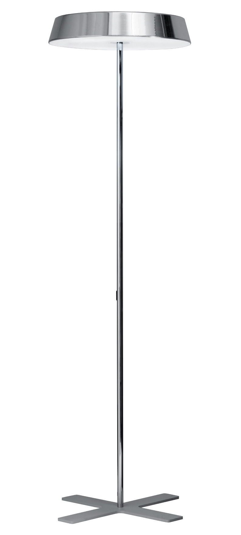 Lighting - Floor lamps - Koi Floor lamp - Switch by Belux - Chrome - With switcher - Chromed steel