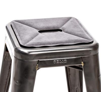 Galette d'assise / Tissu - Pour tabourets - Tolix gris en tissu