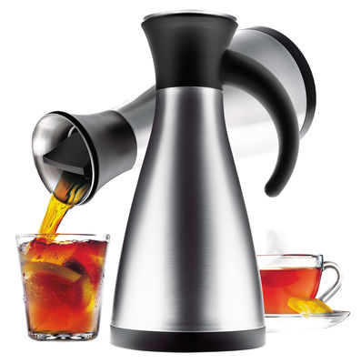 Tischkultur - Tee und Kaffee - Isolierkrug Tropffrei - Eva Solo - Schwarz - Edelstahl - satinierter Stahl