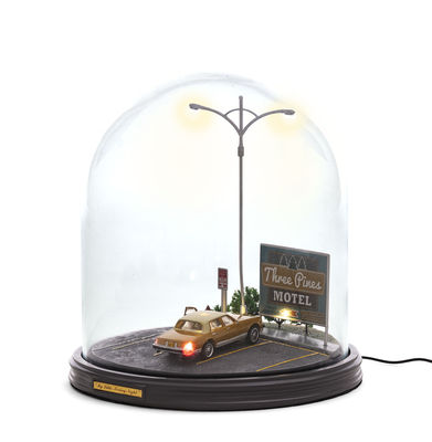 Lampe de table Mi Little Friday Night / LED - Ø 25 x H 26 cm - Seletti multicolore en verre