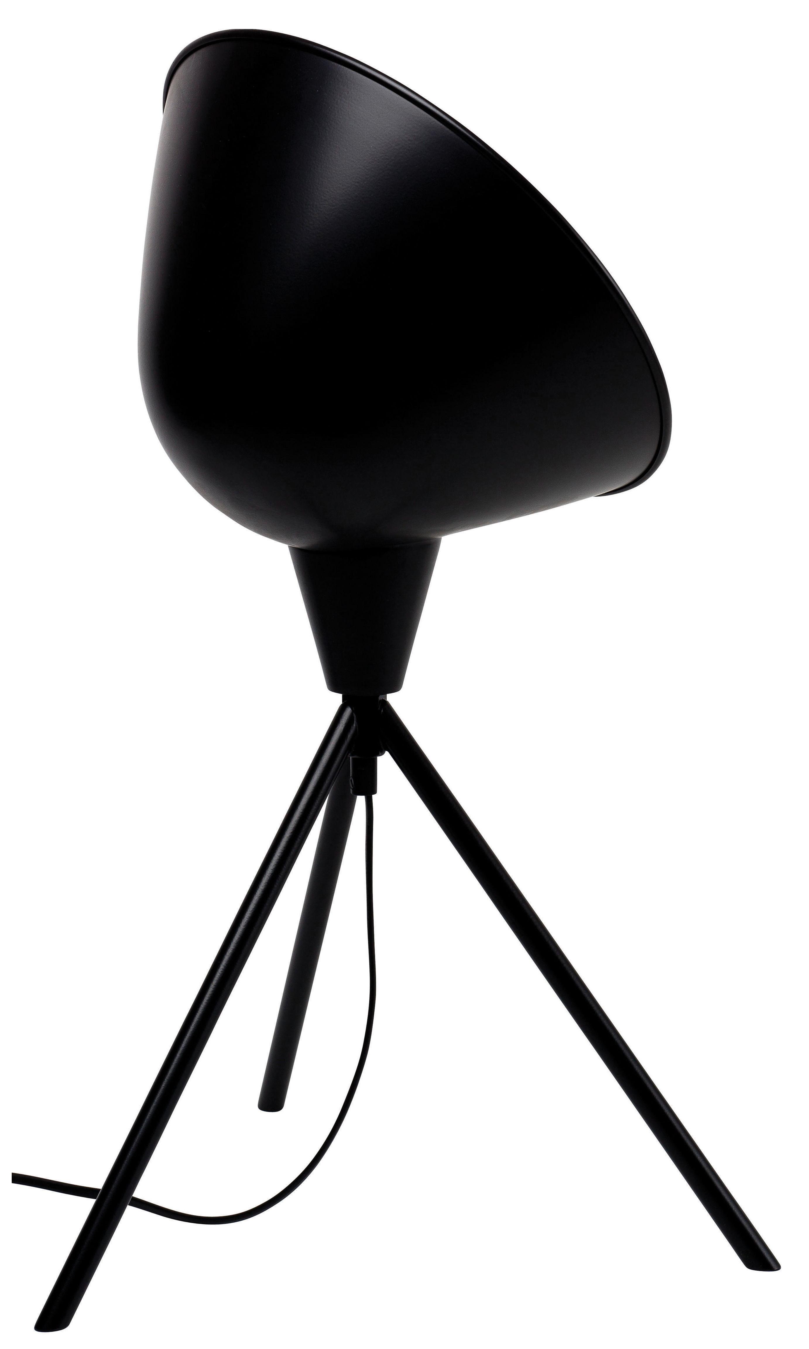 Luminaire - Lampes de table - Lampe Jupiter / H 60 cm - Marcel By - Noir - Métal laqué