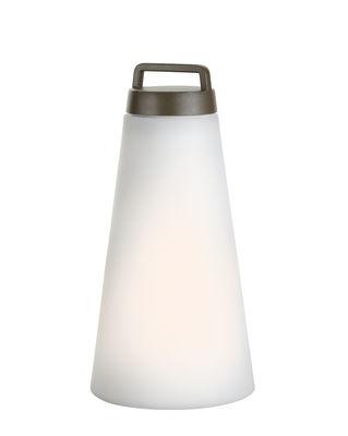 Sasha Large Lampe ohne Kabel / LED -  H 41 cm - Carpyen - Weiß,Olivgrün