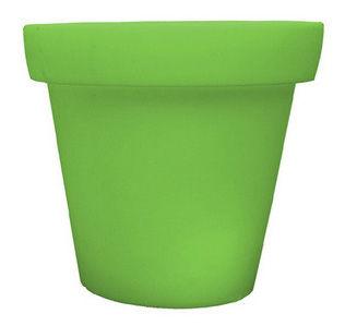 Möbel - Leuchtmöbel - Bloom leuchtender Blumentopf - Bloom! - Grün - Polyäthylen