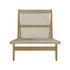 MR01 Initial Lounge armchair - / Oak & rope by Gubi