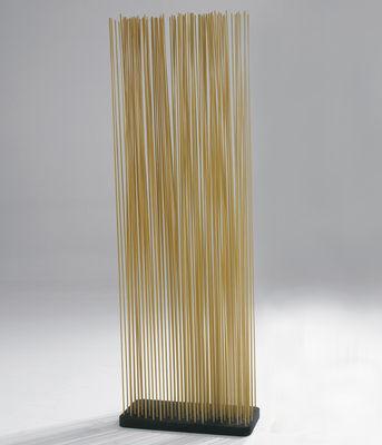 Möbel - Paravents, Raumteiler und Trennwände - Sticks Paravent L 60 x H 180 cm - für innen - Extremis - H 180 cm - natur - Fibre de verre renforcée, Recycelter Gummi