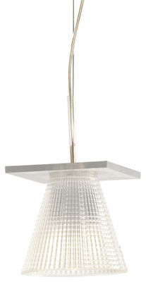 Lighting - Pendant Lighting - Light-Air Pendant by Kartell - Plastique cristal - Thermoplastic technopolymer