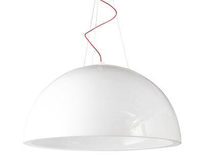 Cupole Pendelleuchte lackierte Ausführung - Ø 80 cm - Slide - Lack-Weiß
