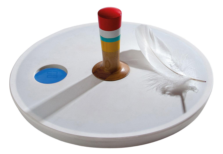 Accessoires - Accessoires salle de bains - Pèse-personne électronique Spinny top - Seletti - Blanc, multicolore - Matière plastique, Silicone