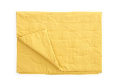 Plaid d'extérieur Walrus / 157 x 105 cm - Extremis jaune en tissu