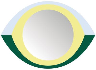 Interni - Specchi - Specchio autocollante The Eye - / Autodesivo - 48 x 35 cm di Domestic - The Eye / Multicolore - Plexiglas
