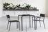 August Stackable armchair - / Aluminium by Serax