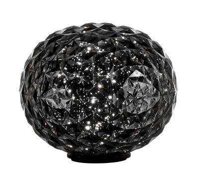 Planet Tischleuchte / LED - H 28 cm - Kartell - Rauchgrau