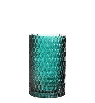 Decoration - Vases - 70 Small Vase - / Ø 12 x H 20 cm by & klevering - H 20 cm / Dark green - Glass