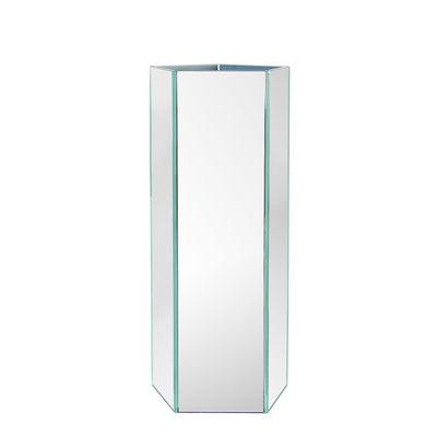 Déco - Vases - Vase Mirror Hexagon / Large - & klevering - H 32 cm / Miroir - Verre