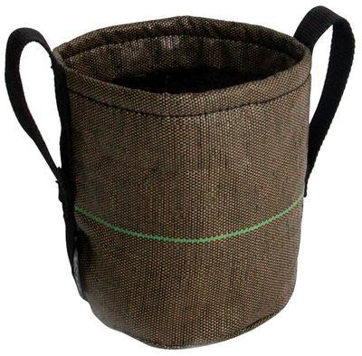 Outdoor - Vasi e Piante - Vaso per fiori Geotextile - 100 l di Bacsac - 100 l - Marrone - Tela geotessile