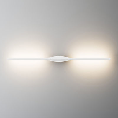 Apex Wandleuchte - LED / Deckenleuchte - L 102 cm Weiß by Fontana ...