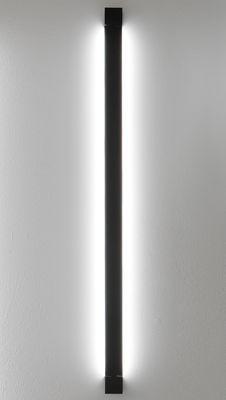 Illuminazione - Lampade da parete - Applique Pivot LED / Plafoniera - L 112 cm - Fabbian - Antracite - alluminio verniciato