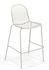 Nova Bar chair - / Metal - H 72 cm by Emu