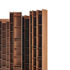Bibliothèque Random 3C / L 46 x H 217 cm - MDF Italia