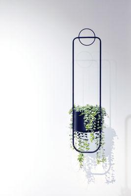 Blumentopf Zum Aufhangen Sonar Von Xl Boom Schwarz Made In Design