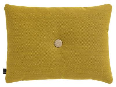 Decoration - Cushions & Poufs - Dot - Steelcut Trio Cushion - 60 x 45 cm by Hay - Yellow - Fabric