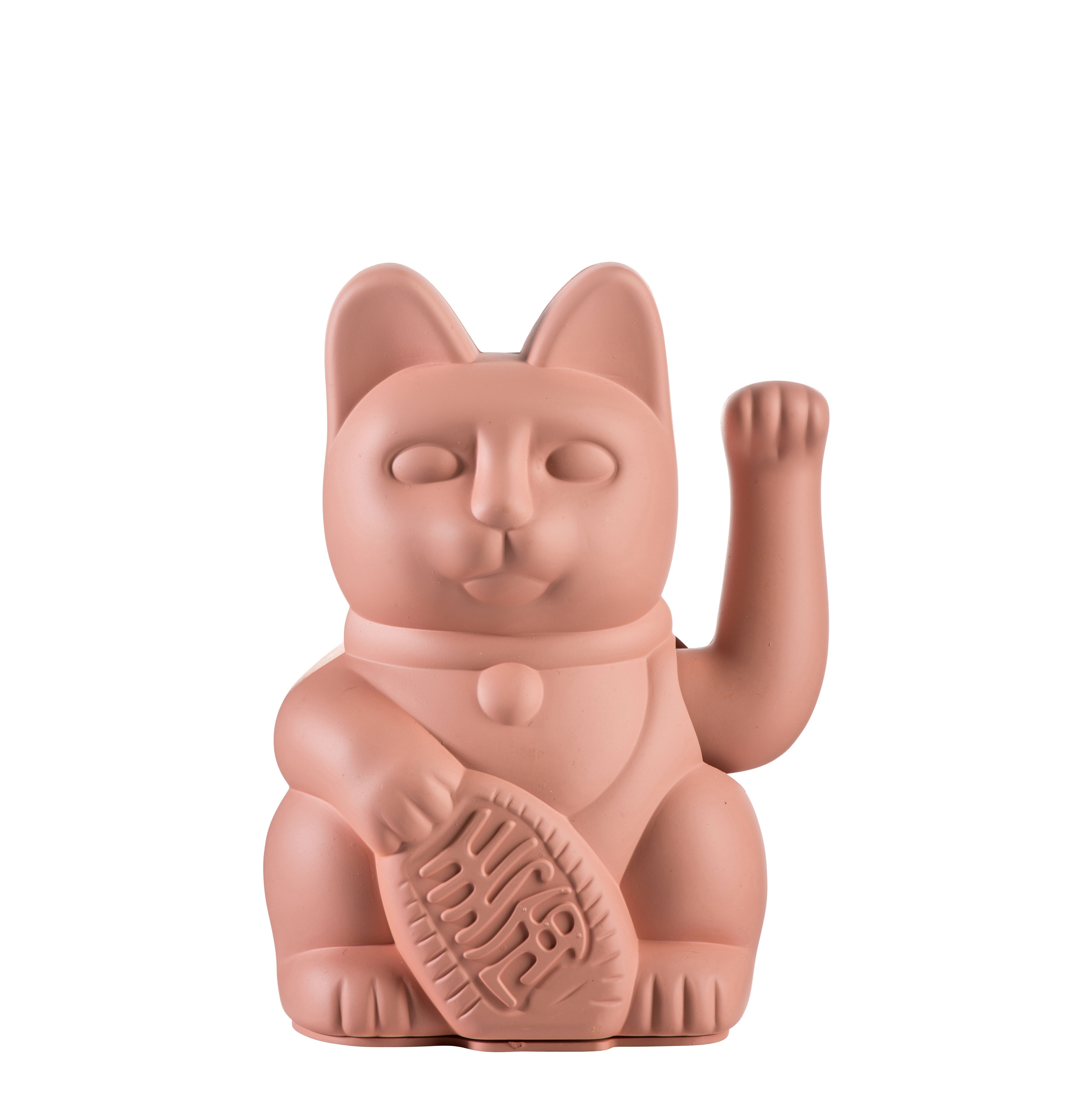 Decoration - Children's Home Accessories - Lucky Cat Figurine - / Plastic by Donkey - Pink - Plastic
