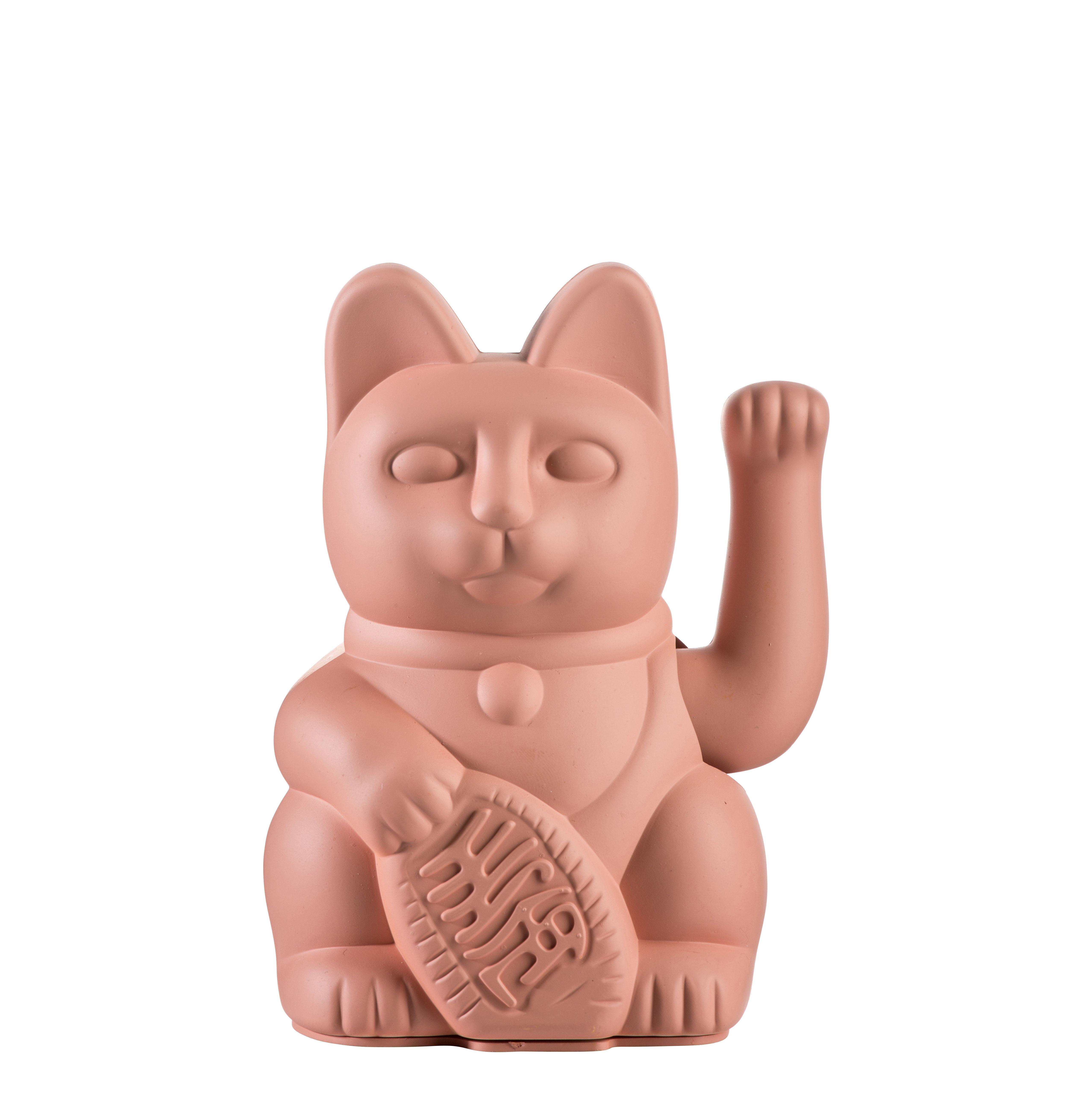 Déco - Pour les enfants - Figurine Lucky Cat / Plastique - Donkey - Rose - Plastique