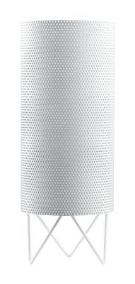 Image of Lampada da tavolo Pedrera H2O - Ø 13 x H 33 cm di Gubi - Bianco - Metallo