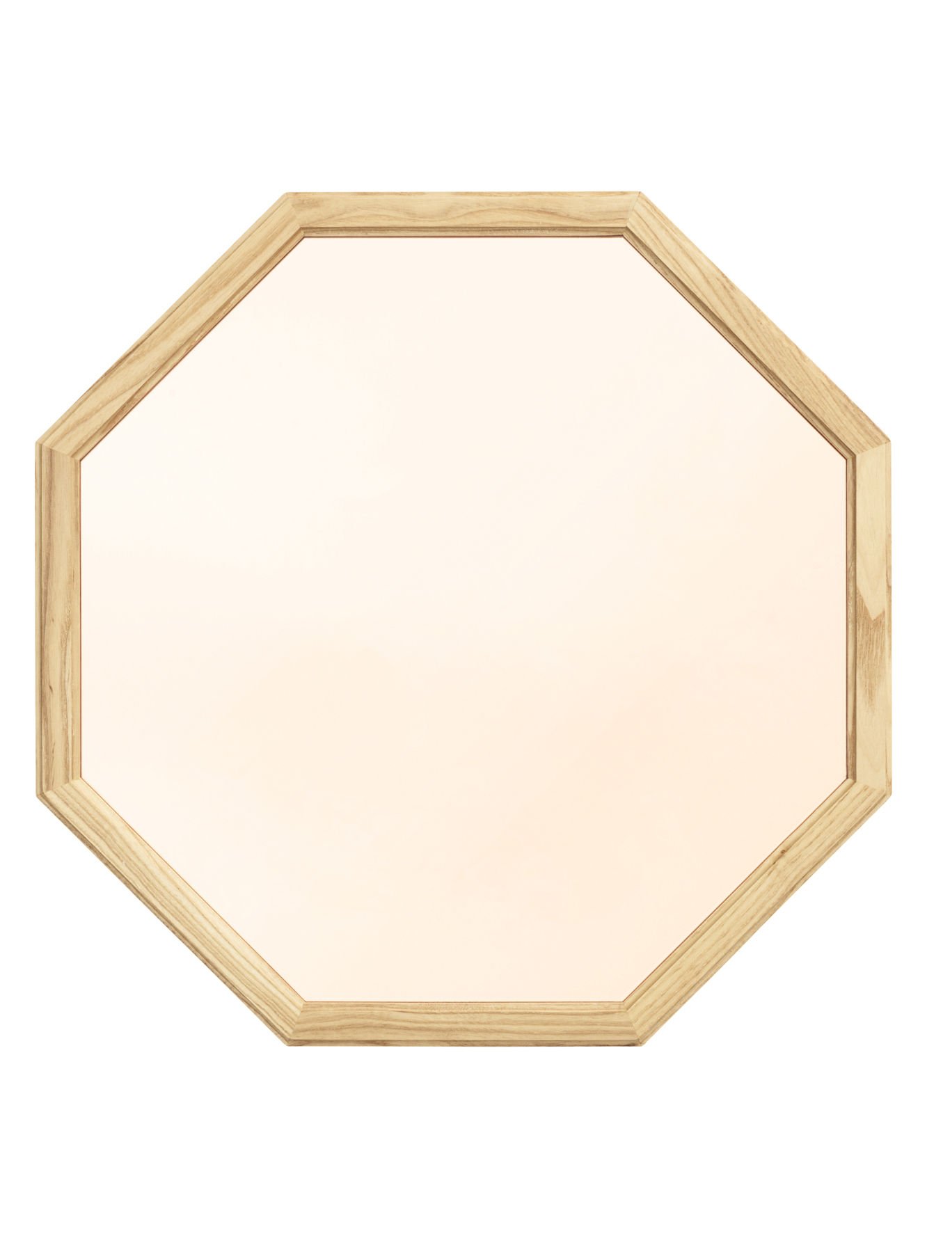 Déco - Miroirs - Miroir mural Lust   Medium / L 50 x H 50 cm - Normann Copenhagen - Medium / Or & chêne - Chêne naturel, Verre teinté