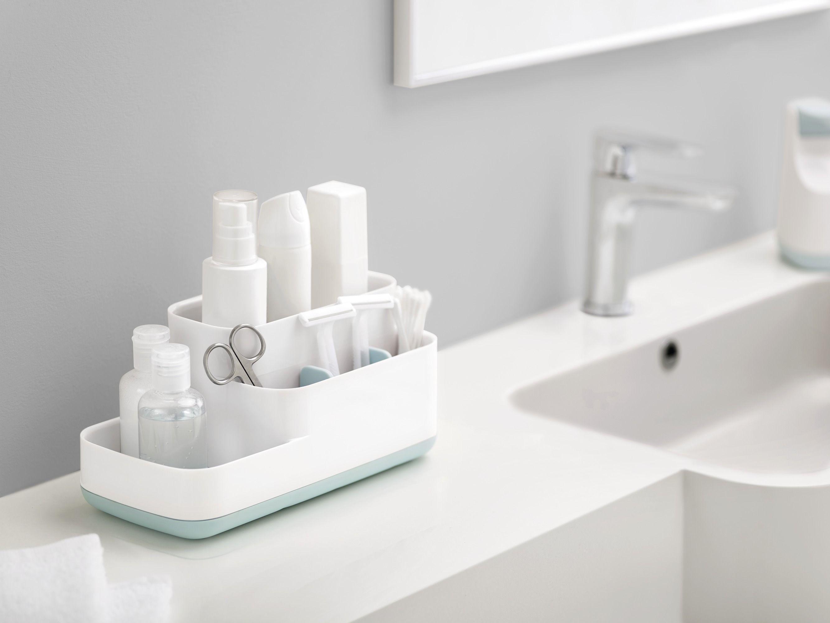 organiseur easy store pour salle de bain 5. Black Bedroom Furniture Sets. Home Design Ideas