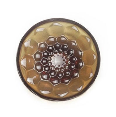 Patère Jellies Family M Ø 13 x H 6 cm Kartell ambre en matière plastique